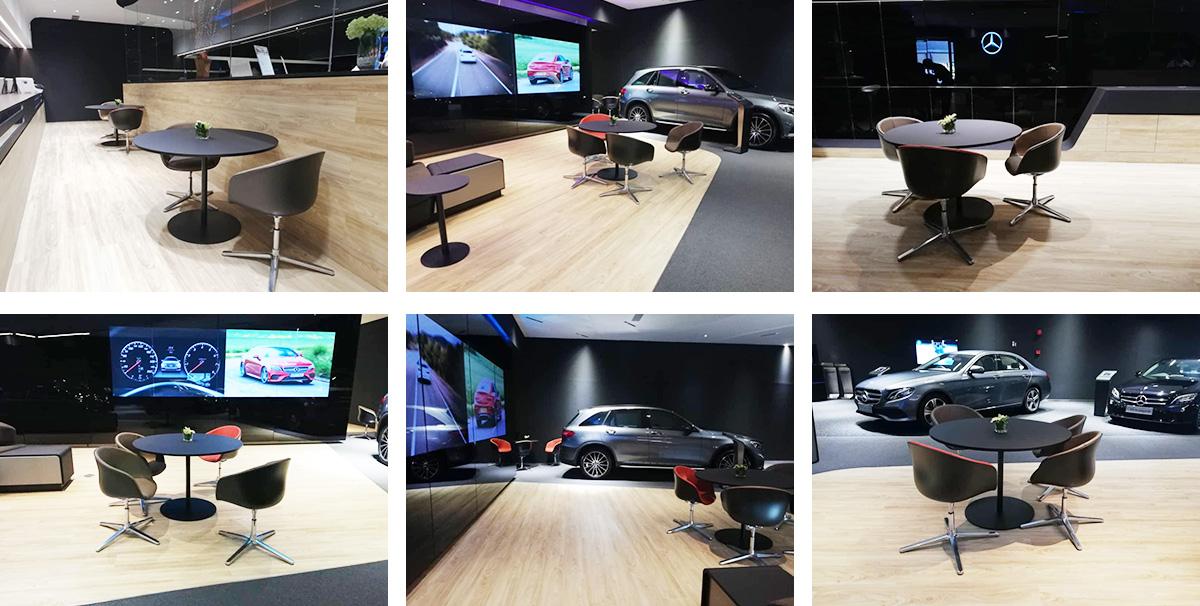 Malay Benz showroom