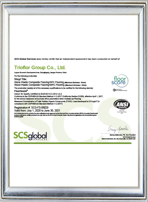 Trioflor 2020 Floorscore 05029